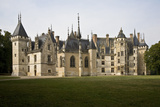 Chateau and Chapel  Meillant  Near Bourges  France