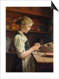 The Little Potato Peeler  1886