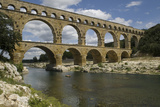 The Roman Aqueduct across the River Gard Was Built in the Middle of the First Century