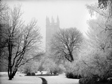 Magdalen College  Oxford  Oxfordshire in the Snow