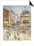 Bastille Day on Rue De Clignancourt  Paris