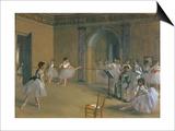 Le Foyer De La Danse a L'Opera De La Rue Le Peletier  1872