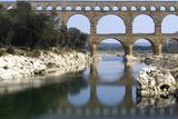 Pont Du Gard  Roman Aqueduct from Ad 1st Century  Near Vers  Gard  France