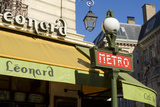 Metro and Cafe  Montmartre  Paris
