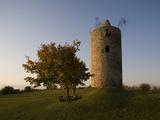 A Medieval Watchtower  Langeneichstadt  Saxony-Anhalt  Germany