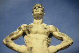 Mussolini Sports Stadium  Rome - Olympic Games 1933 - Statues - Fascist Architecture