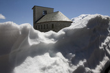Chapel at 2757M on the Stelvio Pass  South Tyrol  Italy