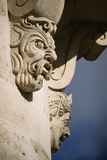 Faces in Architecture - Pont Neuf  Paris - Detail