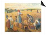 Women Haymaking  1889