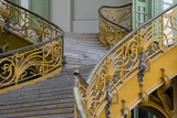 Stairs to the Gallery  Inside the Grand Palais  Paris  France