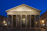 The Pantheon at Dusk  Rome  Italy