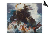 Play of the Naiads  1886