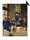 Before the Operation  or Doctor Pean Teaching at Saint-Louis Hospital  1887