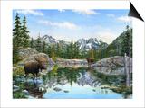 Moose Painting 2