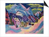 Davos in Winter  1923