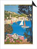 Summer on the Cote D'Azur (L'Ete Sur La Cote D'Azur)  1926