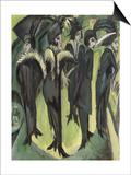 Five Women on the Street  1913