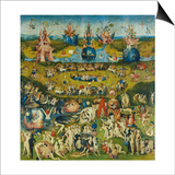 The Garden of Earthly Delights  Central Panel of a Triptych