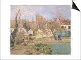Kitchen Garden at the The L'Hermitage  Pontoise  1874