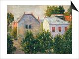 Suburban Garden Near Asnieres  1883