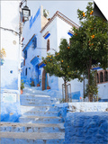 An Alleyway in the Medina  Chefchaouen  Morocco