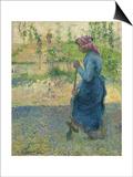 Peasant Digging; Paysanne Bechant  1882