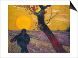 The Sower at Sunset  1888