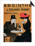 Absinthe Extra Superior'  Produced by J Edward Pernot for Montbeliar  Liquer Mont-Christ
