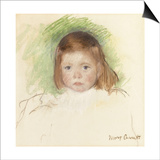 Portrait of Ellen Mary Cassatt (Pastel on Paper Mounted on Paperboard 362 X 359Cm)