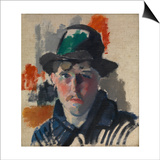 Self Portrait with Green Hat