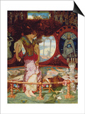 The Lady of Shalott  C1886-1905