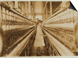 Spinner in Lancaster Cotton Mills  South Carolina  1908