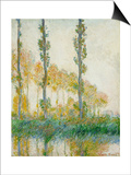 The Three Trees  Autumn  1891