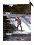 An Angler  1874