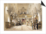 The Chapel of Saint Catherine at Mount Sinai Monastery  1839