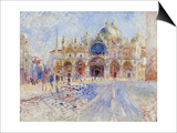 The Piazza San Marco  Venice  1881