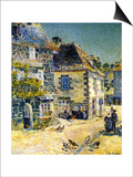 Pont Aven  Brittany  1897