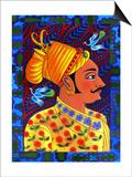 Maharaja with Blue Birds  2011