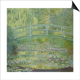 The Waterlily Pond and the Japanese Bridge