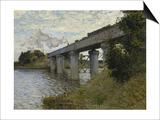 The Railroad Bridge in Argenteuil  1873-1874