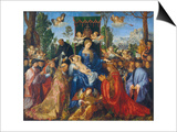 The Feast of the Rose Garlands  1506