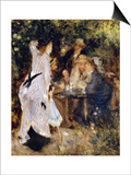 In the Garden (Au Jardin Du Moulin De La Galett)  1876