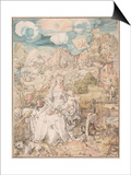 Mary Among a Multitude of Animals  Ca 1503