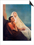 St Augustine with His Mother St Monica  1855
