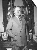 President Harry Truman at the White House Office  April 5  1946