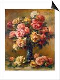 Roses in a Vase  C1910
