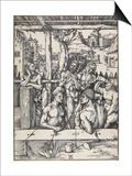 The Men's Bath  C 1496-1497