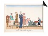 Les Allies A Versailles  by H Reidel  1920