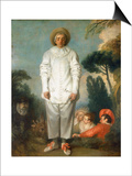 Gilles - Pierrot  1718-1719
