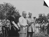 President Harry Truman Honoring General Dwight Eisenhower for His World War 2 Service